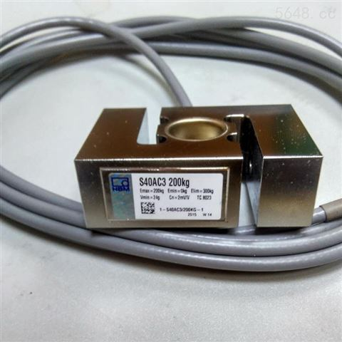 德国HBM拉压式S型称重传感器S40A/50KG